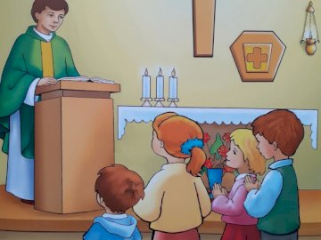 We meet Jesus at the Mass - Sunday is a very joyful day and God wants us to rest on that day. He also invites us to church for H
