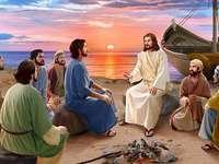 Jesus visas för apostlarna efter sin uppståndelse