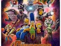 възпоменателният плакат на Simpsons