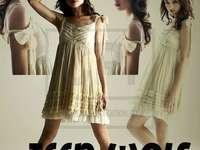 Allison Argent - Allison Argent è stato il personaggio principale della serie Teen Wolf. Crystal Reed in un abito da