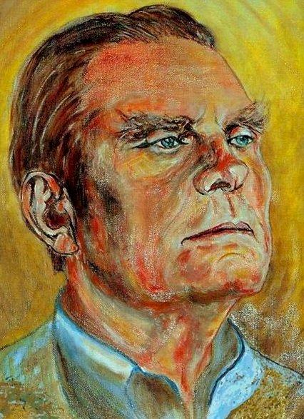 Czesław Miłosz - Escritor polonês que recebeu o Prêmio Nobel. Uma tatuagem no rosto (4×4)