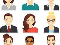 Characteristics of people - people have different physical characteristics that differentiate them from others. A close up of a