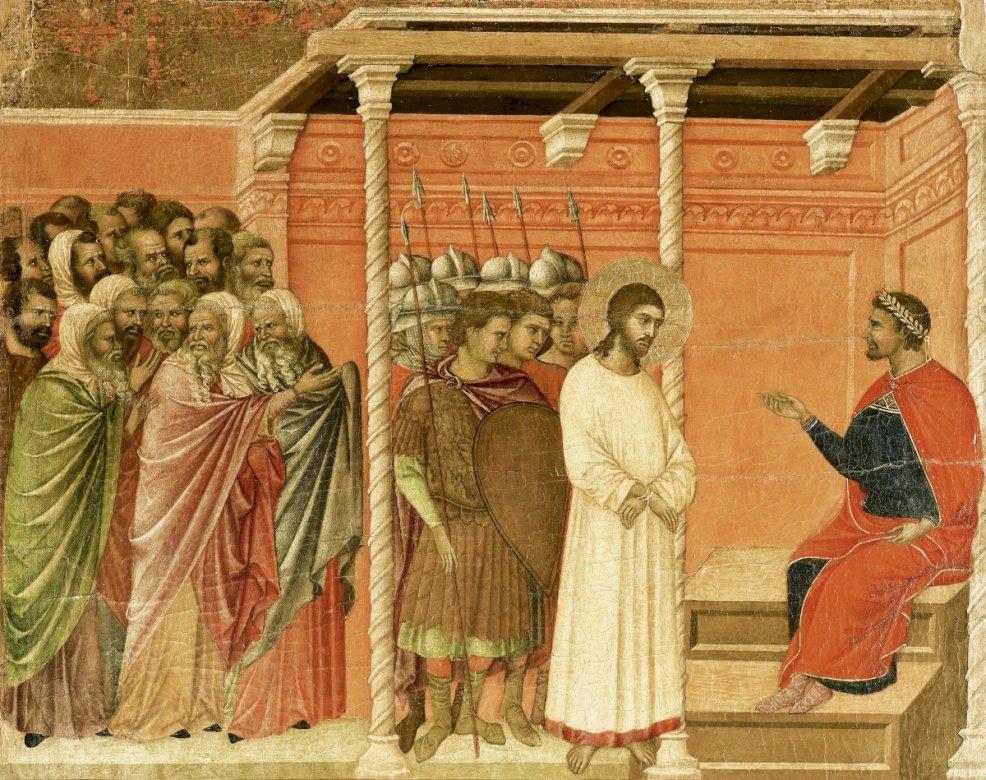 Jezus Chrystus skazany przez Piłata
