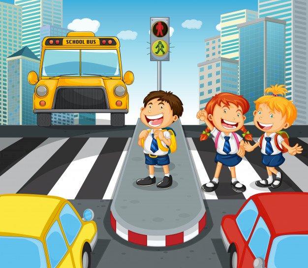 Feu de circulation - casse-tête pour les enfants de 2e année.  Activité pour les enfants, sur la voie publique.  Feu de circulation (6×6)