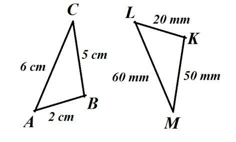Triângulos congruentes 1
