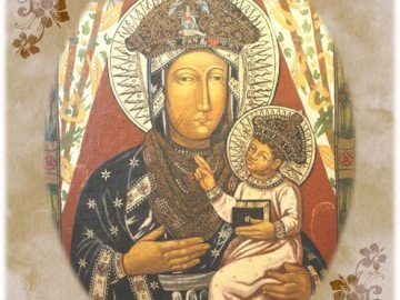 Mother of hope - Picture of Our Lady of Popowska, Mother of hope.