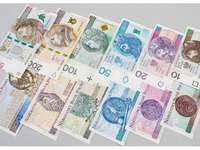 Puzzle. Banknoty polskie