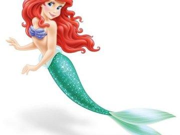 Sirena - Ariel - Crea tu propia sirena.