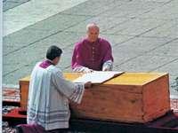 St. John Paul II på väg till Faderns hus