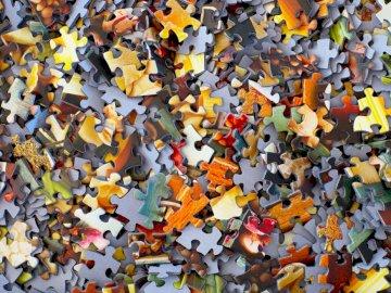 Puzzle pieces - Puzzle pieces, photography.