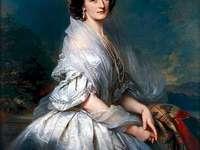 porträtt av Eliza Krasińska från Branicki