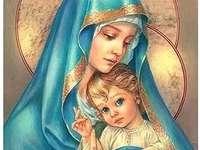 Maria cu pruncul Iisus
