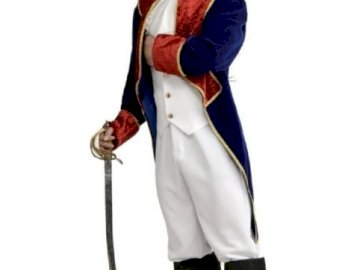 men's outfit from the time of Napoleon - men's outfit from the time of Napoleon. A man wearing a suit and tie.