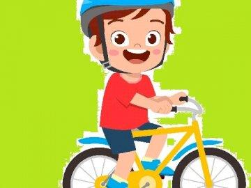 rowerek na zielonym tle - rowerek na zielonym tle.