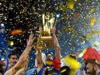 Serbia's volleyball team - Serbia's volleyball team.