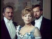 Izabela cu tatăl ei și cu Wokulski
