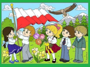 3 MAY NATIONAL HOLIDAY - MAY 3 IS A JOYFUL FESTIVAL FOR POLES. ARRANGE THE PICTURE.