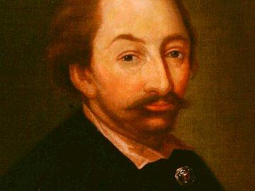 Hetman Stanisław Żółkiewski - Hetman Stanisław Żółkiewski. A person posing for the camera.