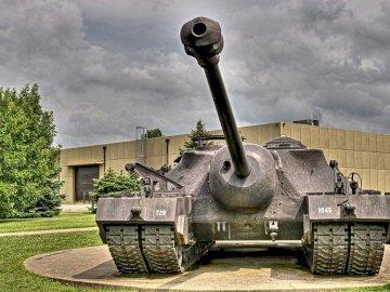 Czołg t-28 - Oto czołg t-28 100 puzli.