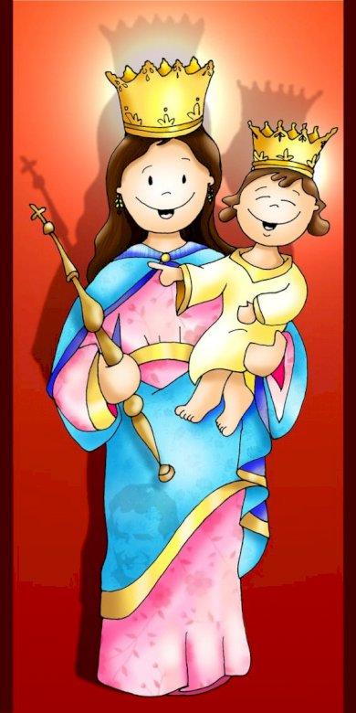 Mary - Królowa Nieba i Ziemi