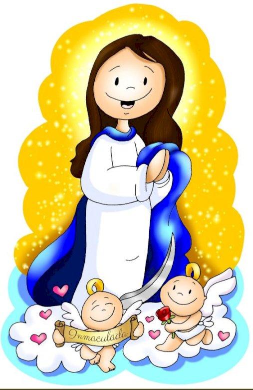 Maryja - Królowa Nieba i Ziemi jigsaw puzzle