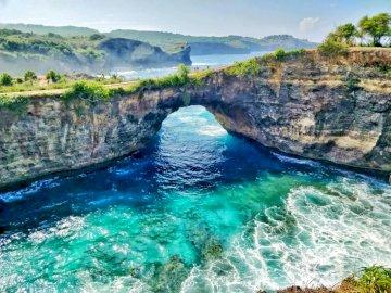 Kabupaten indonezyjski - Bali, Inodnezja. Klungkung to najmniejsza regencja na Bali w Indonezji. Jego siedzibą jest Semarapu