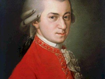 Mozart_art - Mozart - músico clásico. Compositor de muchas grandes obras, incluidas óperas. Un hombre vestido