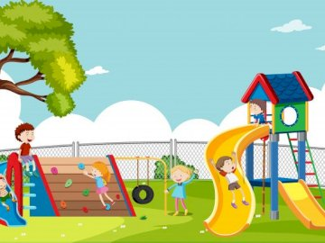 Playground - Cool game to play with young learners.