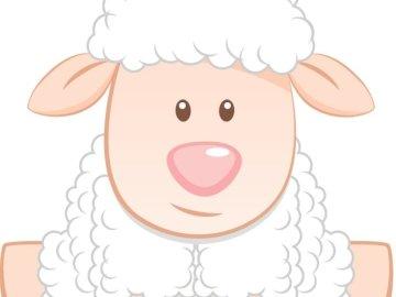 Owca Kleyder - Owce wykonane przez Kleyder Mauricio. Zbliżenie logo.