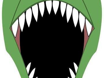 dinosaure - Complétez le puzzle en ligne. Un dessin d'un personnage de dessin animé.