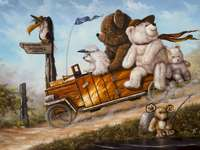 Excursion from teddy bear