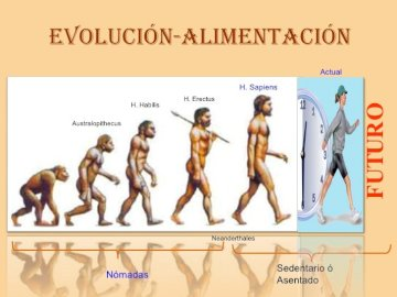 Socio-anthropology - Evolution of man in food history. A screenshot of a cell phone.
