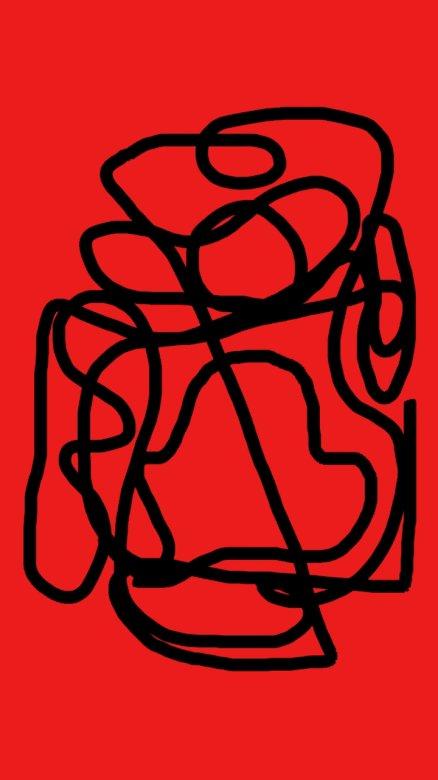 Cyrille M - Fresatura. Puzzle da una creazione di arte pittorica su strumento digitale. Una stretta di un logo (5×5)
