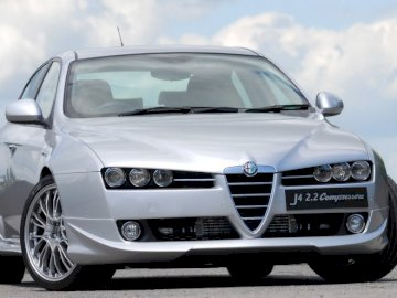 AlfaRomeo159 - My dream Alfa Romeo 159. A car parked on the side of a road.