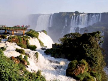 Iguazu Falls - If you like Iguazu Falls and put together puzzles you have to put together this wonderful puzzle. A