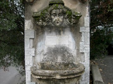 Tuilerie Fountain - This fountain is an evocation of Paris and is part of the architectural elements from the Tuileries