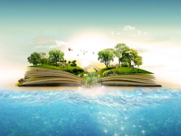 Why is it worth reading books? - Why is it worth reading books?. A body of water.