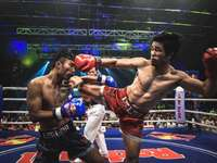 Muay Thai Fight at Cambodia