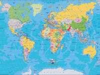 Versnipperde wereld gezien door Houcine