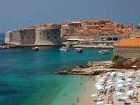 Napos nyári nap Dubrovnikban