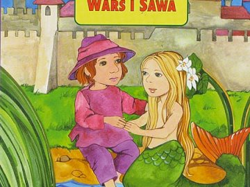 Wars and Sawa - Puzzle about the Warsaw legend about Wars and Sawa.