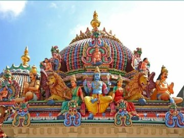 Hinduistischer Tempel - Świątynia hinduska