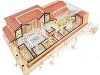 römischer Hausplan