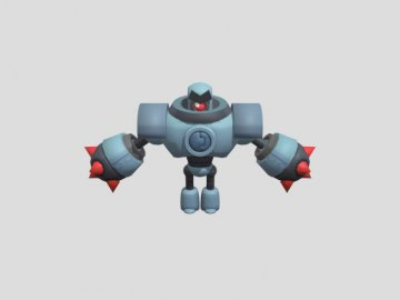 For children - Puzzle with a drawing of the robot brawl satrs can be? xD.