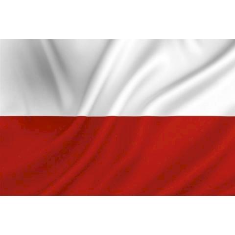 Steagul polonez - steag polonez frumos schimbare frumoasă. Un apropiat al unui steag (15×15)
