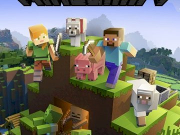 minecraft - find all puzzles.