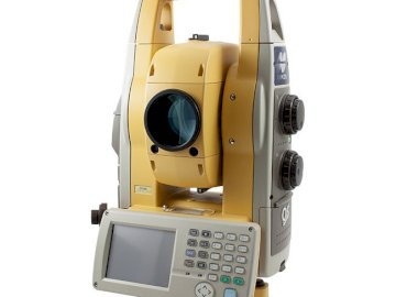 Total Station - The puzzles show geodetic equipment such as a total station. A close up of a camera.