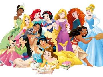 PRINCESY DISNEY - Puzzle Disney Princess.