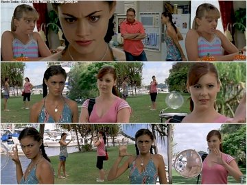 Cleo from H2O:Just Add Water - Cleo from H2O:Just Add Water. Phoebe Tonkin, Brittany Byrnes posing for a photo.