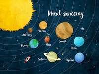 Solsystem - Solsystem. Solsystem - pussel för barn. M ..........................